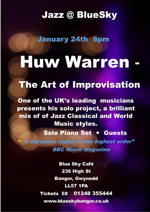 Blue Sky Poster Jan 24th